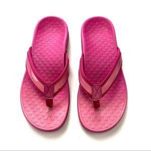Vionic Tide II Toe Post Sandals - Pink Ombre